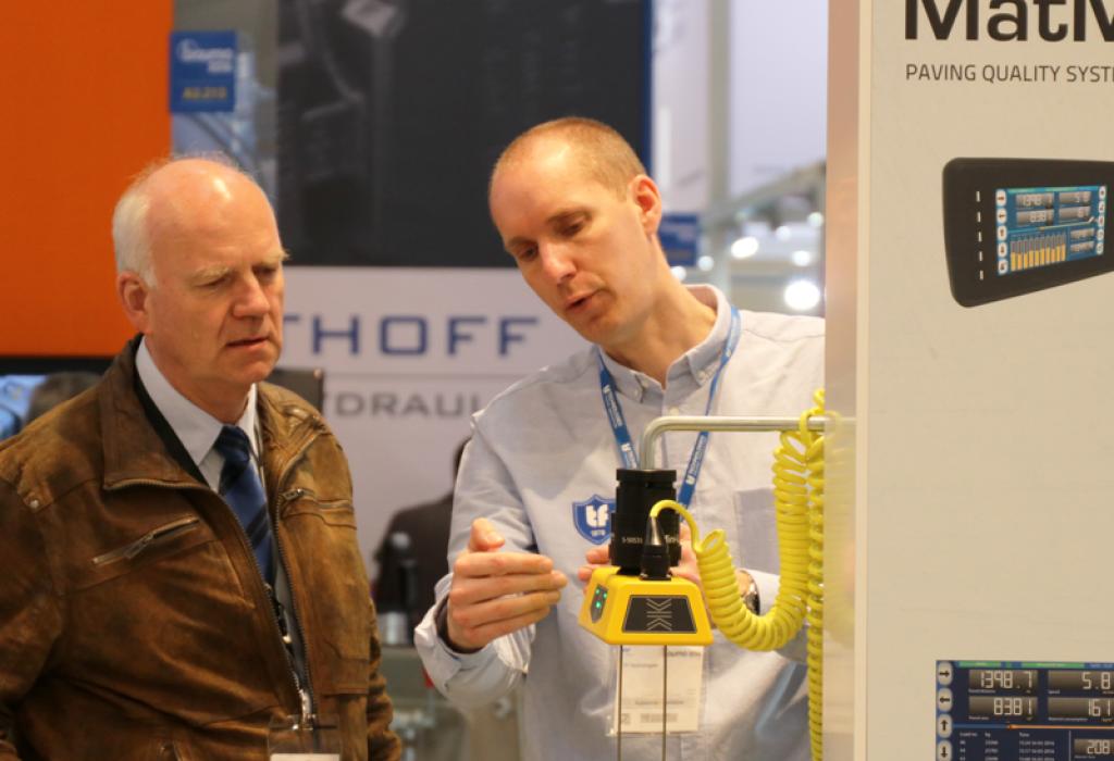HS301 handset G224 ultrasonic sensor paving Mini-Line system