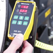 How to adjust sensitivity on HS301 Mini-Line TF-Technologies