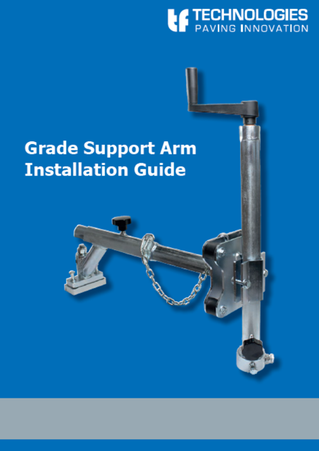 Grade Support Arm - Mini-Line TF-Technologies