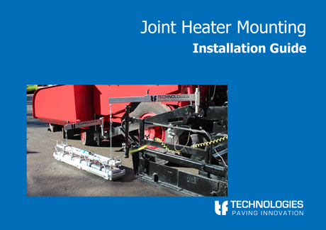 Joint Heater Mounting user guide