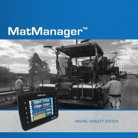 MatManager™ - Paving Quality System