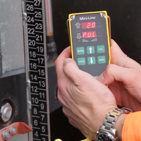 Minimum pulse HS301 Mini-Line Paving technology