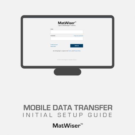 Setup guide to Mobile data transfer