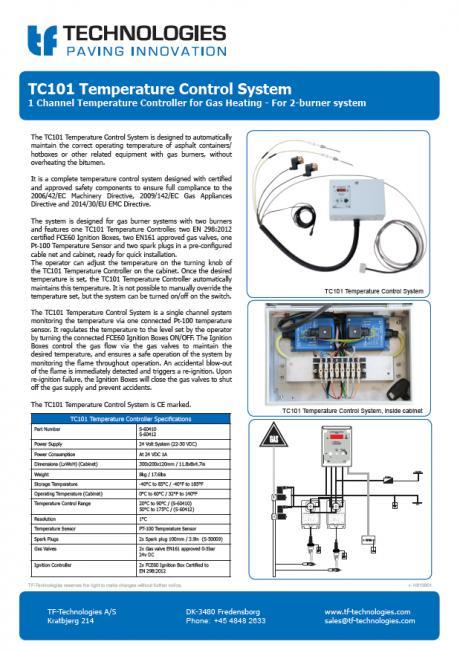 TC101 Temperature Control System