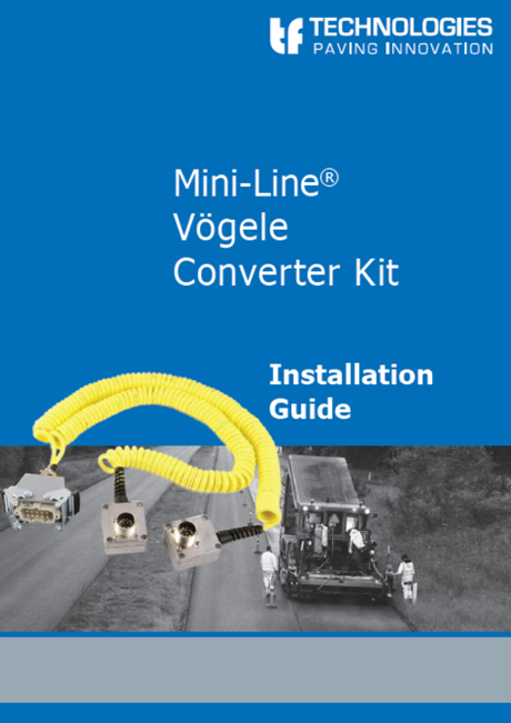 Vögele Converter Kit Mini-Line - TF-Technologies -