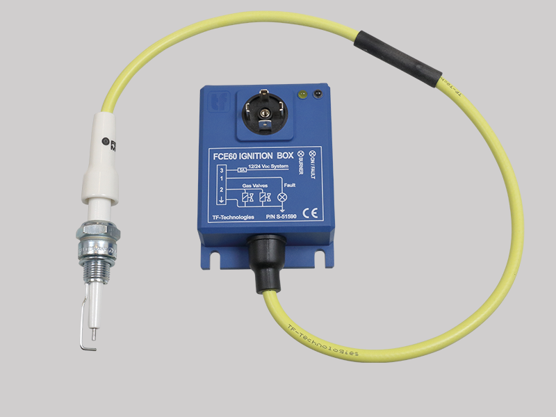 Gas ignition TF-Technologies safe CE approved